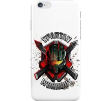 Spartan Workout iPhone Case/Skin