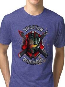 Spartan Workout Tri-blend T-Shirt