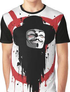 V for Vendetta Ink Graphic T-Shirt