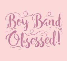 Boy band Obsessed Kids Tee