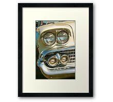 Classic Headlights Framed Print
