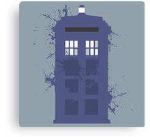 Tardis Collection Canvas Print