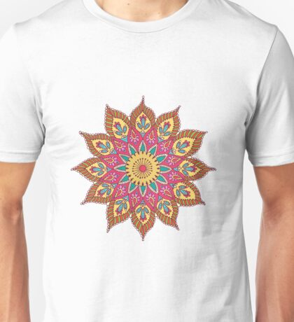 Coloured Mandela Unisex T-Shirt