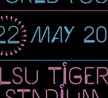 22th may - LSU Tiger Stadium Sticker