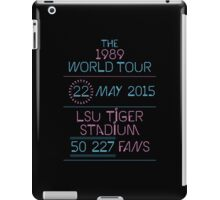 22th may - LSU Tiger Stadium iPad Case/Skin
