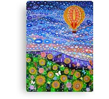 Balloon on a Summers Day Canvas Print