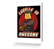 Lucille is Awesome Greeting Card
