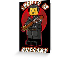 Lucille is Awesome v2 Greeting Card