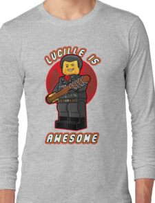 Lucille is Awesome v2 Long Sleeve T-Shirt