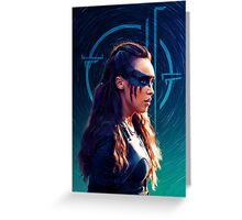 commander lexa Greeting Card