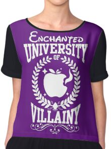 University of Villainy Chiffon Top