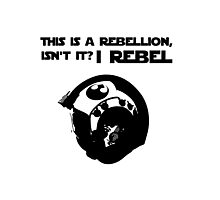this is a rebellion isn't it? Photographic Print