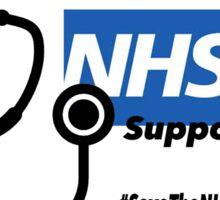 NHS Supporter Sticker