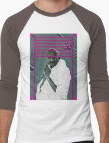 Gandhi Men's Baseball ¾ T-Shirt