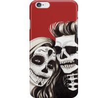 Day of the Dead Lovers iPhone Case/Skin