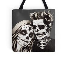 Day of the Dead Lovers Tote Bag