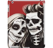 Day of the Dead Lovers iPad Case/Skin