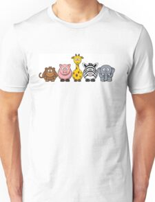 Zoo Animals Unisex T-Shirt