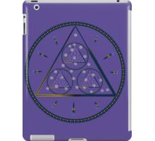 mysterious triangle iPad Case/Skin