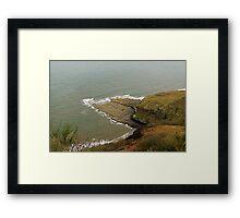Blea Wyke Steel, Ravenscar Framed Print