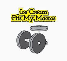 Ice Cream Fits My Macros Unisex T-Shirt