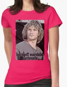 Patrick Swayze Womens Fitted T-Shirt