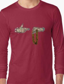 Run The Jewels - Fist/Gun Long Sleeve T-Shirt