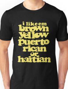 puerto rican or haitian Unisex T-Shirt