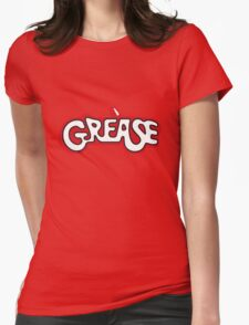 grease logo Womens Fitted T-Shirt