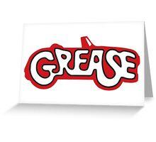 grease logo Greeting Card