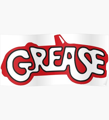 grease logo Poster