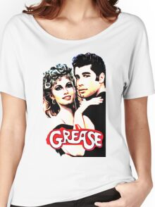 grease Women's Relaxed Fit T-Shirt