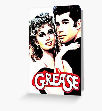 grease Greeting Card