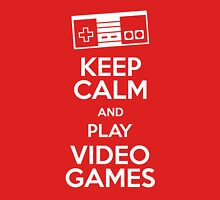 Keep calm and play video games Unisex T-Shirt