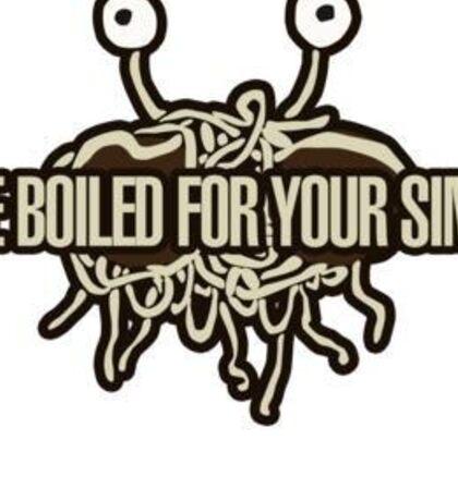 Flying Spaghetti Monster! Sticker