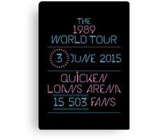 3rd June - Quicken Loans Arena Canvas Print