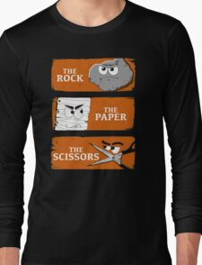 The Rock The Paper The Scissors Long Sleeve T-Shirt
