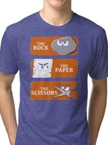 The Rock The Paper The Scissors Tri-blend T-Shirt