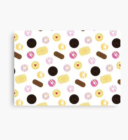 Biscuits Galore Canvas Print
