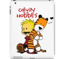 Calvin And doll hobbes iPad Case/Skin