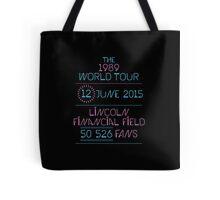 12th june - Lincoln Financial Field Tote Bag