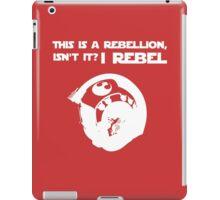 I Rebel (White) iPad Case/Skin