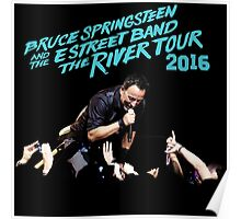 EXLUSIVE THE RIVER TOUR WORLD 2016 B.SPRINGSTEEN  Poster