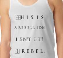 I rebel Jyn Erso Tank Top