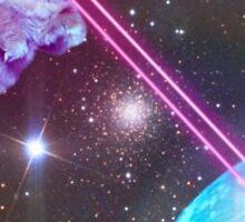 Laser Cat Sticker