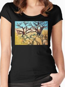 Tree Love Women's Fitted Scoop T-Shirt