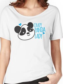 Crazy Panda Lady Women's Relaxed Fit T-Shirt