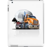Cartoon Mixer Cement Truck iPad Case/Skin