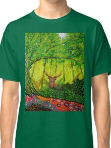 Young Red Deer Stag Classic T-Shirt