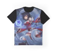Ahri, the Nine Tailed Fox by Kairui Graphic T-Shirt